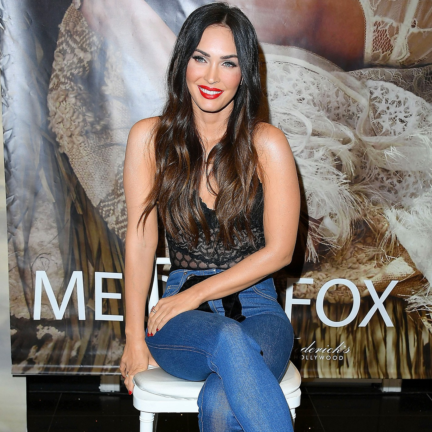 Megan Fox, Forever 21, Brand Ambassador, Frederick's Of Hollywood, The Americana at Brand